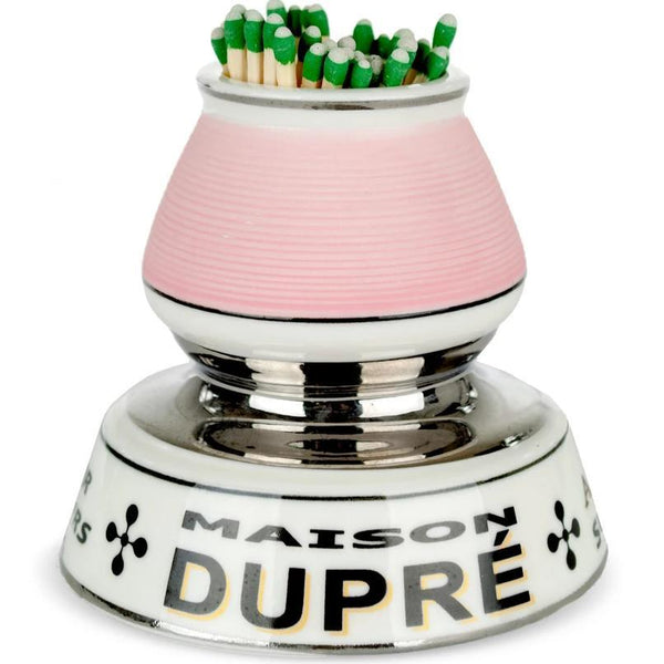 French Porcelain Match Strike - Maison DuPre - Home Smith