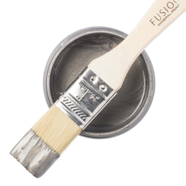 Fusion Mineral Paint - Brushed Steel Metallic - Home Smith