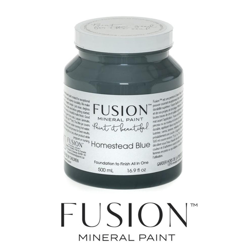 Fusion Mineral Paint - Homestead Blue - Home Smith