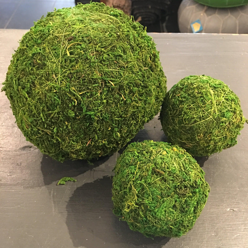 Garden Decor Moss Balls - Home Smith