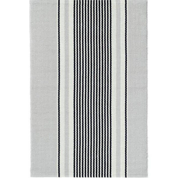 Gunner Stripe Woven Cotton Rug - Home Smith