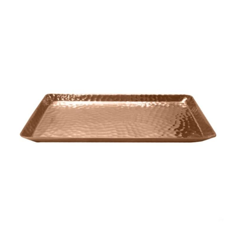 Hammered Rose Gold Trays - Home Smith