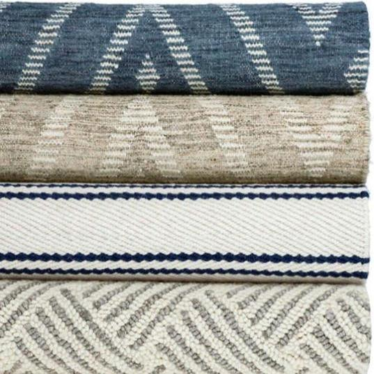 Healy Grey Woven Wool Rug - Home Smith