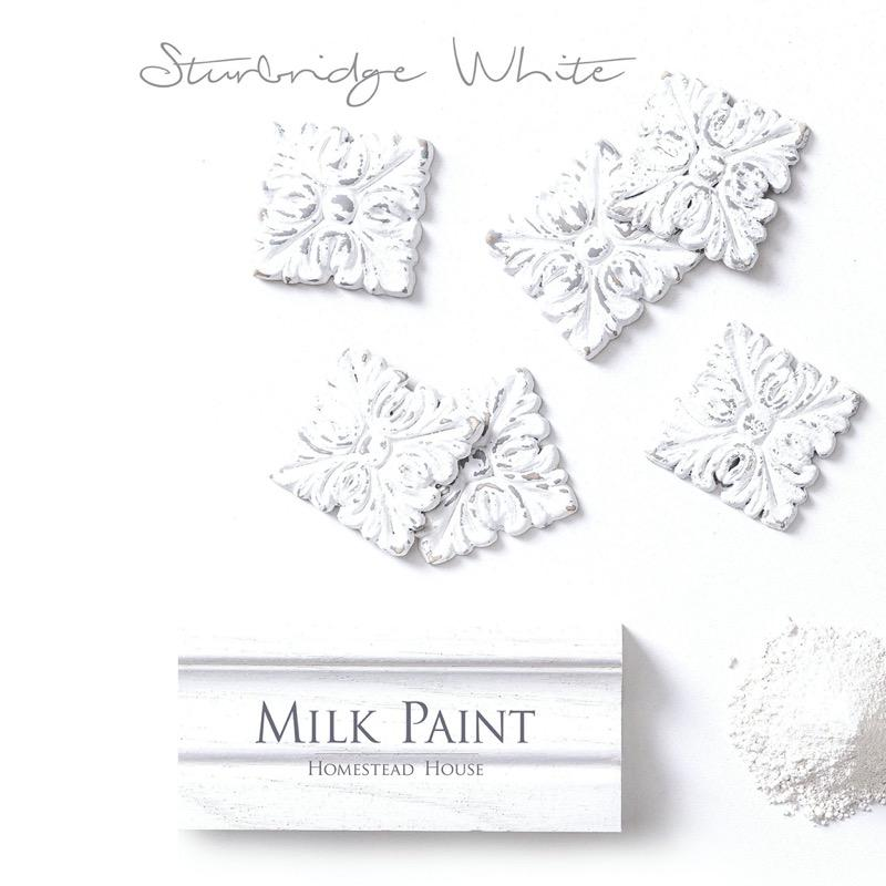 Homestead House Milk Paint - Sturbridge White - Home Smith