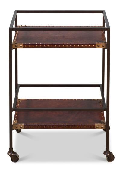 Industrial Bar Trolley - Home Smith