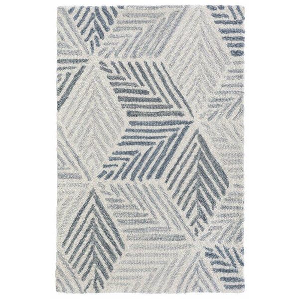 Karari Hooked Wool Rug - Home Smith