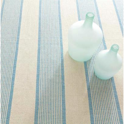 La Mirada ASIATIC BLUE Cotton Woven Rug - Home Smith