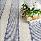 La Mirada NAVY Cotton Woven Rug - Home Smith