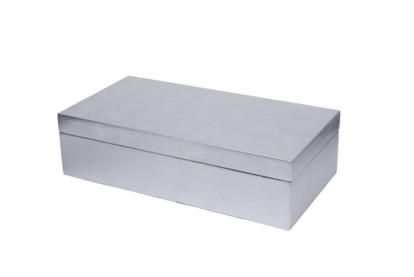 Lacquer Silver Leaf Box - Home Smith