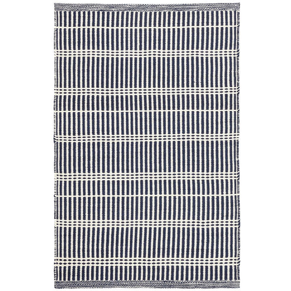 Marlo Navy Blue Indoor/Outdoor Rug - Home Smith