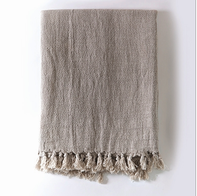 Montauk Linen Throw - Home Smith