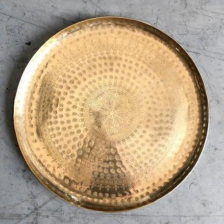 Moroccan Brass Trays - Home Smith