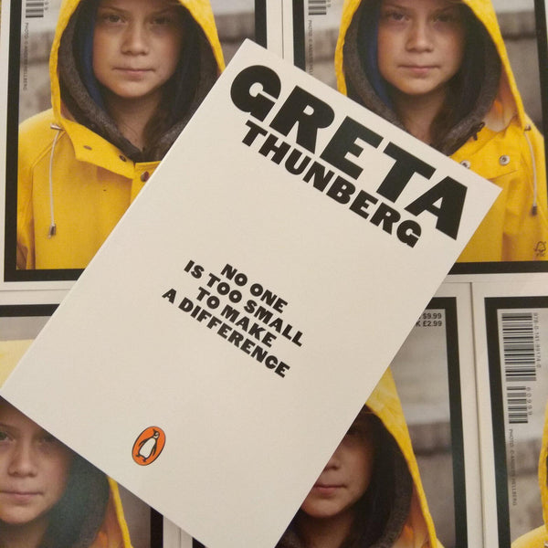 """No One is Too Small to Make a Difference"" Greta Thunberg-Penguin Random House-Home Smith"