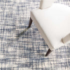 Olio Blue Hooked Wool Rug - Home Smith