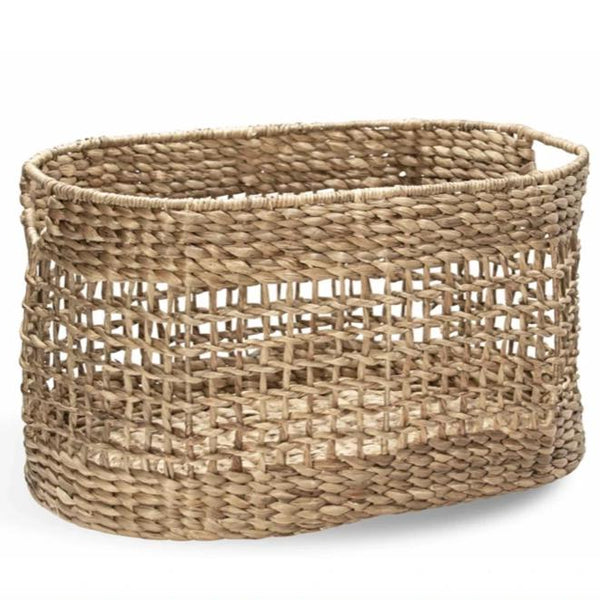 Oval Ship Knot Laundry Basket-Montes Doggett-Home Smith