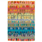 Paint Chip Micro Hooked Wool Rug - Home Smith