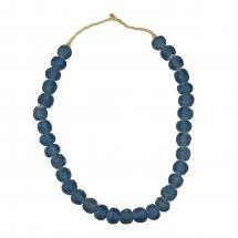 Recycled Glass Beads in Blue - Medium - Home Smith