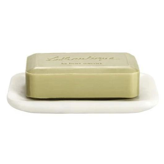 Rounded Edge Marble Soap Dish - Rectangle - Home Smith