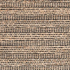 Simba Black Woven Jute Rug - Home Smith