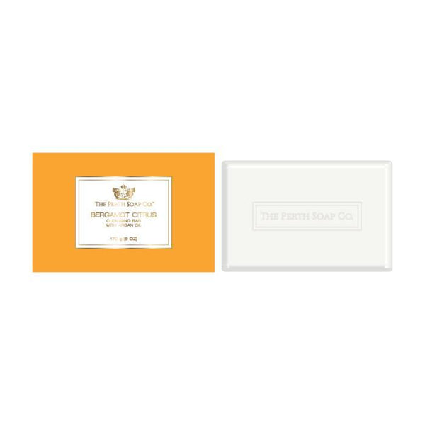 The Perth Soap Co. Bergamot Citrus Cleansing Bar - Home Smith
