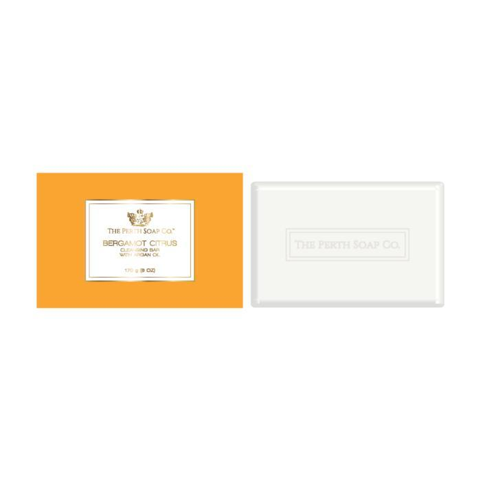 The Perth Soap Co. Bergamot Citrus Cleansing Bar-The Perth Soap Co.-Home Smith