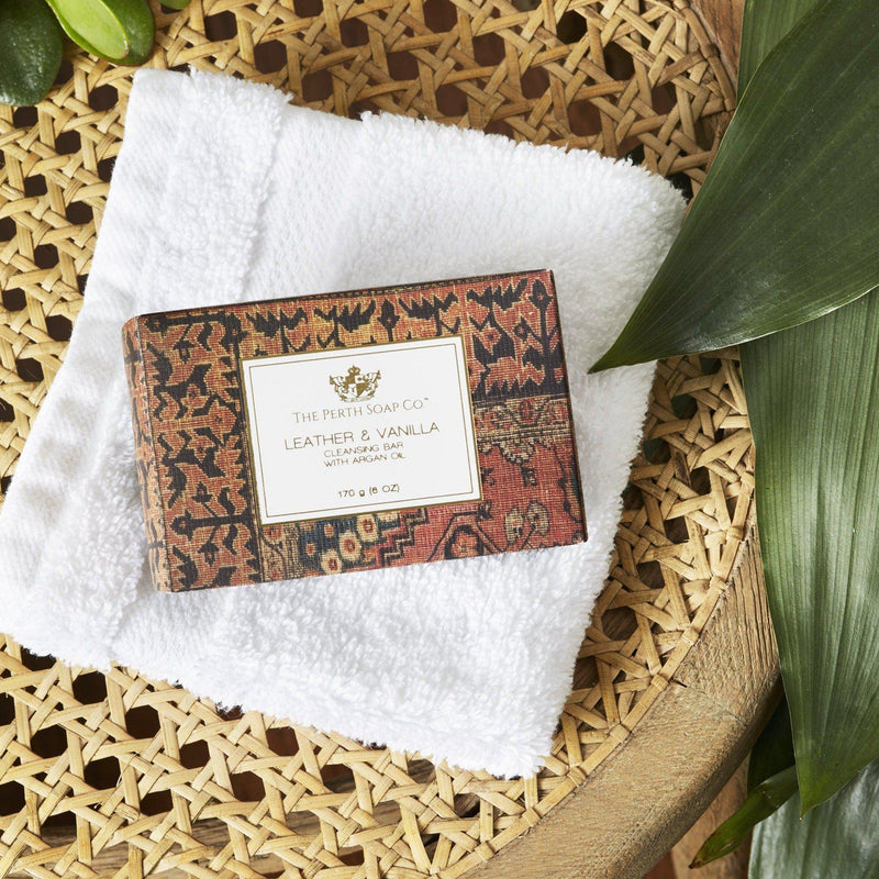 The Perth Soap Co. Leather & Vanilla Cleansing Bar - Home Smith
