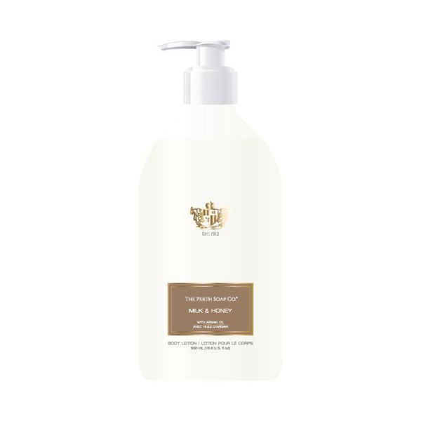 The Perth Soap Co. Milk & Honey Body Lotion-The Perth Soap Co.-Home Smith