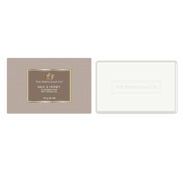 The Perth Soap Co. Milk & Honey Cleansing Bar-The Perth Soap Co.-Home Smith