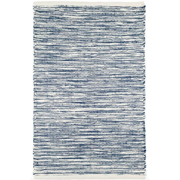 Tideline Navy Indoor/Outdoor Rug-Dash & Albert-Home Smith