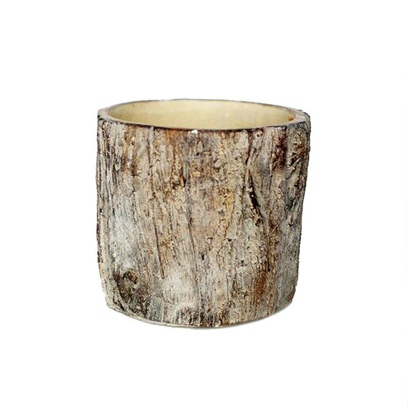 Tree Trunk Pot- Small - Home Smith