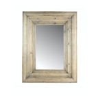 Waxed Pine Mirror- Small - Home Smith