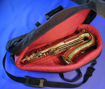 Baritone Sax Gigbag, Double Pocket  #55DP