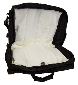 Clarinet Double Case with Double Pocket - #CLDP-DB