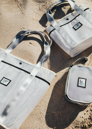 Sig on Smith x HAYN x ILA Swim Carry-All - White/Black/Silver