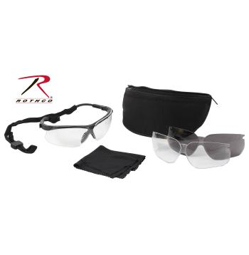 UVEX Genesis Military Eye Protection Kit