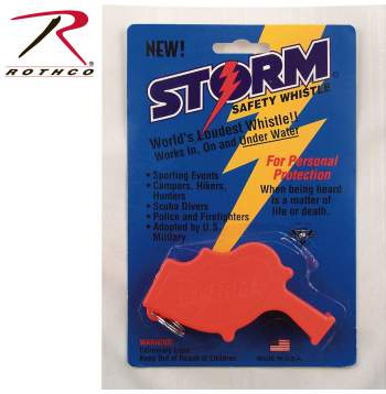 U.S. Navy Storm All Weather Whistle