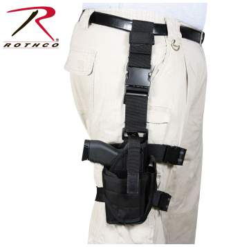 Deluxe Adjustable Drop Leg Tactical Holster
