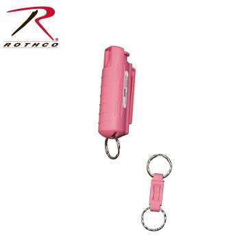 Sabre Red USA Defense Spray With Pink Hard Case
