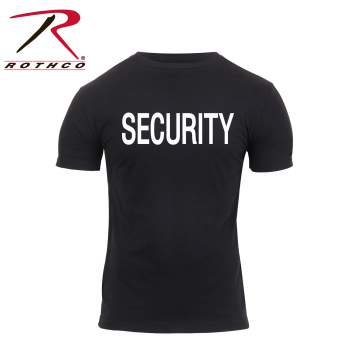 Athletic Fit Security T-Shirt