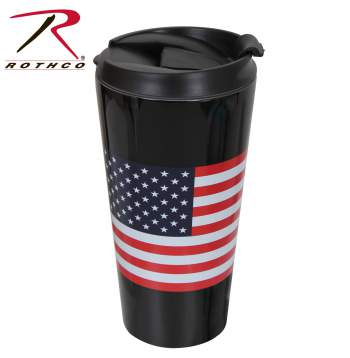 US Flag Travel Cup