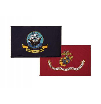 USMC Eagle, Globe and Anchor Flag - 3' x 5'