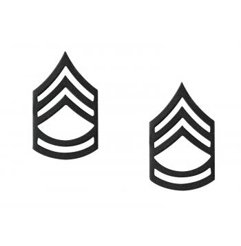 Sergeant First Class Polished Insignia Pin