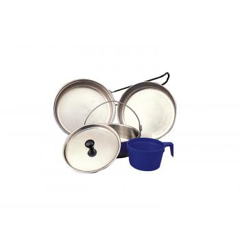 5 Piece Stainless Steel Mess Kit