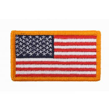 American Flag Patch - Hook Back