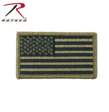 OCP American Flag Patch With Hook Back