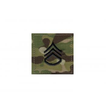 Official U.S. Made Embroidered Rank Insignia Staff Sergeant Patch