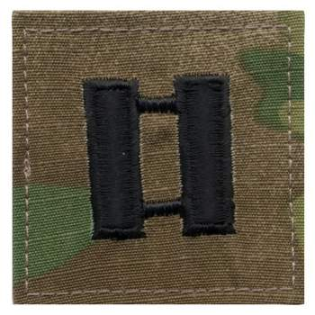 Official U.S. Made Embroidered Rank Insignia - Captain Insignia