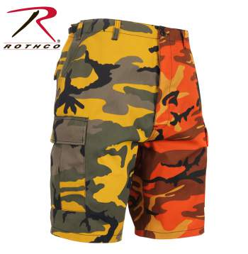 Two-Tone Camo BDU Short