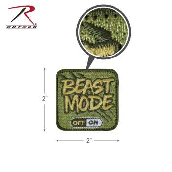 Beast Mode Patch With Hook Back