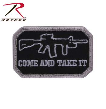 Come and Take It Morale Patch Black